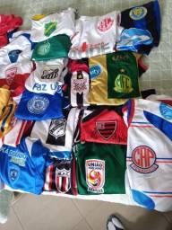 Coleção camisas futebol