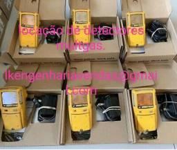 Detector de gas locação