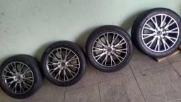 Jogo de Rodas 15 com pnels 195/50