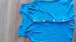 Blusa azul/ Veste M