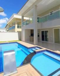 Casa no Alphaville Eusébio 5 suítes piscina e hidromassagem