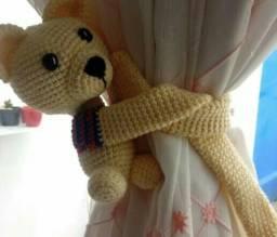 Ursinho para segurar cortinas