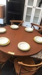 Mesa Redonda 6 cadeiras