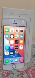 "iPhone SE 32GB Gold ""Novinho"" Lindo"