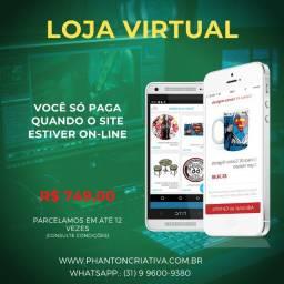 Título do anúncio: Criação de Loja Virtual - E-commerce - Promoção