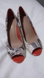 Sapato animal print