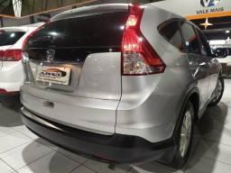 CR-V nj LX 2.0 aut 2012 Couro! 4pneus novos! Troco e financio! Chama no zap!