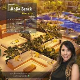 Título do anúncio: Malia Beach Muro Alto | Flat tipo stúdio com varanda | ùltimas unidades