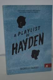 "Livro ""A Playlist de Hayden"""