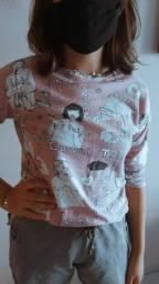 Camisa de manga longa (zara)