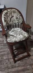 Título do anúncio: Cadeira de balanço madeira maciça