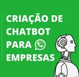 Chatbot, Auto atendimento virtual Whatsapp Para Empresas