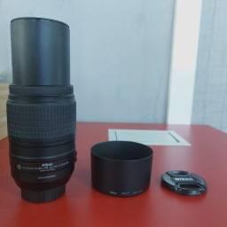 Lente Nikon af-s dx Nikkor 55-300mm f/4.5-5.6G ed vr - Usada - muito rara
