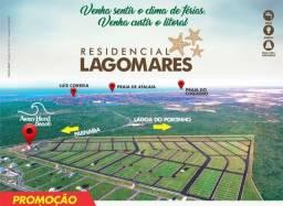 Lotes a venda no Residencial Lagomares com 375 m2 e 450 m2 com até 30 %  de  descontos