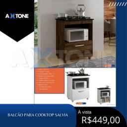 Título do anúncio: Balcão cooktop moderno com salvias 79