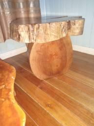 Título do anúncio: Mesa de madeira feita a mão