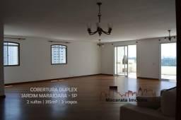 Título do anúncio: Cobertura duplex com 315m² no Jd. Marajoara