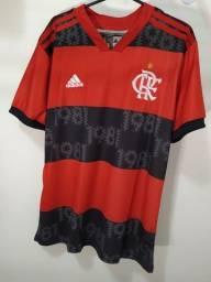Camisa do Flamengo Vermelha/preta