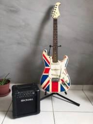 Guitarra Eagle + Amplificador Meteoro mg10