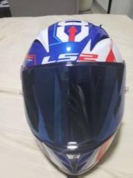 Vendo capacete ls2 arrow r e shark s700