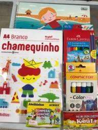 Kit infantil desenho e pintura