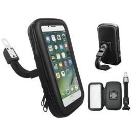 Suporte de celular p/ moto/bike impermeável novo e com garantia
