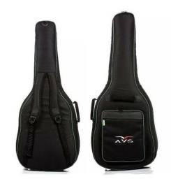 Título do anúncio: Capa acolchoada para violão folk