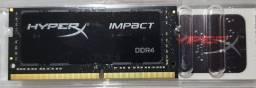 Memória Ram HyperX 1x16gb 2666mhz CL15
