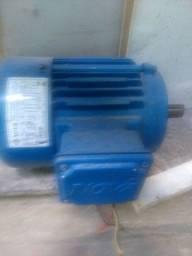 Motor de gaiola trifásico novo