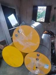 Aquecedor solar 400 litros com 2 placas 2 por1
