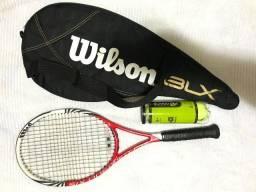 Título do anúncio: Raquete de tenis wilson blx six one 95