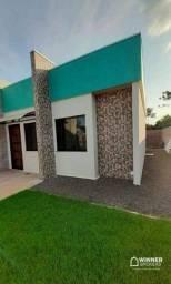 Casa com 2 dormitórios à venda, 54 m² por R$ 180.000,00 - Jardim Cidade Alta 2 - Campo Mou