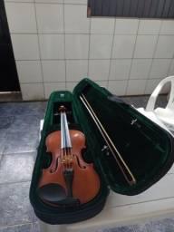 Título do anúncio: Vendo violino, valor 300 reais (seminovo)  - cordas novas