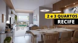 Título do anúncio: Apartamento de 2 e 3 Quartos | Caxangá |T| 70m² | À venda em Recife | 1 ou 2 Vagas de Gar