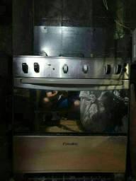 Vendo fogão de 5bocas inox
