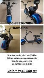 Scooter moto eletrica 1500w