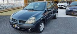 Título do anúncio: Clio Sedan 2004 completo promoção