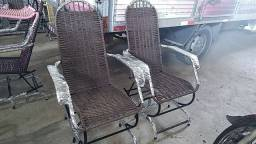 Cadeiras de mola de embalo