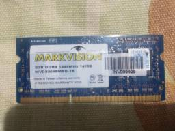 Memória Markviosin DDR3 para notebook (2GB)