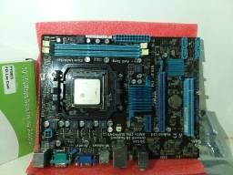 Placa mãe Asus AM3+ e FX 4300