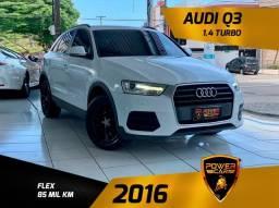 Título do anúncio: Audi Q3 2016 1.4 turbo interior caramelo extra