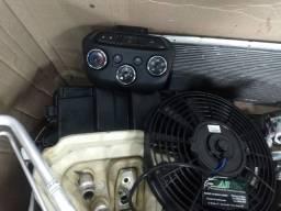 Kit ar condicionado Onix Prisma instalado!!!