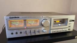 Tape deck Gradiente novíssimo