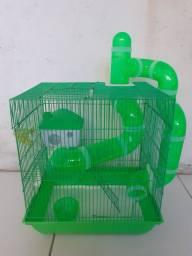 Título do anúncio: Gaiola hamster 2 andares