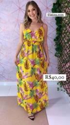 Título do anúncio: Vestido floral