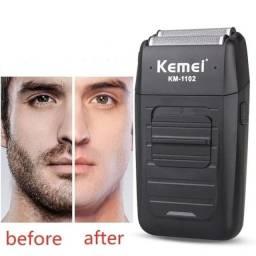 Shaver Kemei km-5700 novo na caixa para acabamento profissional ultimas unidades.