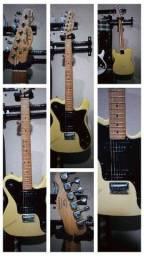 Título do anúncio: Oportunidade Guitarra Telecaster Squier Custom P90