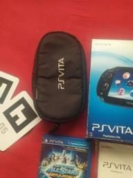 Venda !!! Case ,caixa e Air cards ,realidade aumentada ps vita