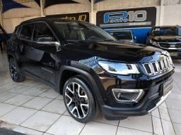 """Jeep Compass Limited 2.0 Flex Automática Rodas 19"""" Apenas 51.000 Km"""
