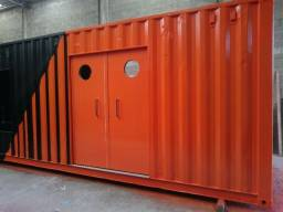 Barbearia Container 12mts